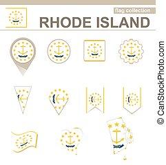 Rhode Island Flag Collection