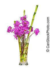 rhododendron, fleur, coloré, bouquet, pourpre, flowers.