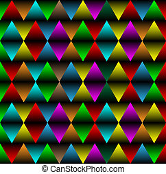 rhombus abstract