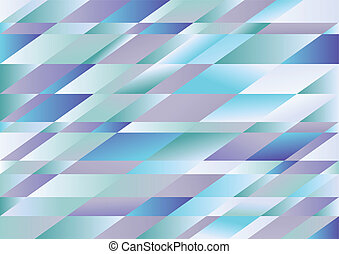 Rhombus blue vector background