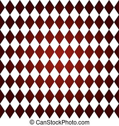Rhombus pattern seamless, vector illustration