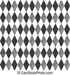 Rhombus retro background. Vector Illustration.