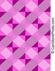 rhombuses, viola, strisce