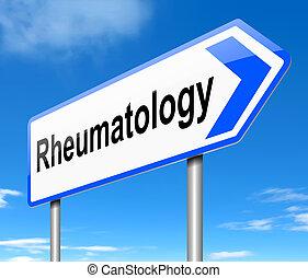 rhumatologie, signe.