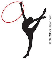 rhythmisch, gymnastisch