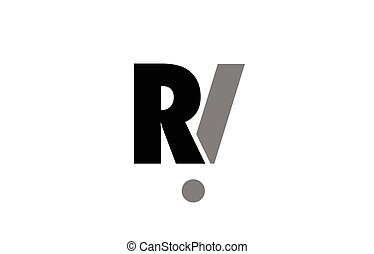 Ri R I Alphabet Letter Logo Combination Icon Alphabet Design Ri R I