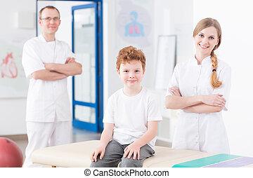 riabilitazione, pediatrico, centro