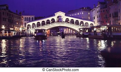 Rialto bridge, Venice, Italy - famouse historical Rialto...