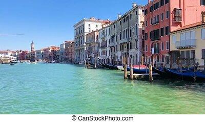 Rialto bridge, Venice, Italy - view of Venice historical...