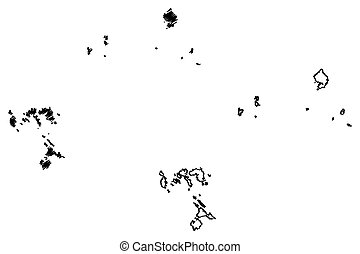 Riau Islands map