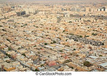 Riaydh - Aerial view of Riyadh downtown