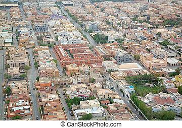 Riaydh - RIYADH - FEBRUARY 29: Aerial view of Riyadh...