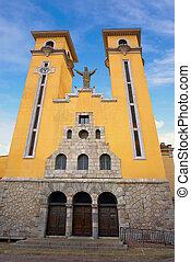 Ribadesella church of Maria Magdalena in Asturias