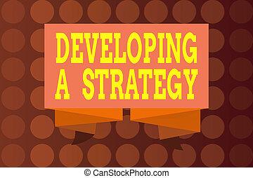 riband., geschaeftswelt, geschenkband, text, vision, gefaltet, begriff, ideen, planung, entwickeln, dekorativ, schärpe, streifen, schreibende, wort, ziel, strategy., besprechen, banner, marketing, neu , gewellt, gefaltet