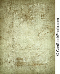Ribbed Parchment and Cracked Plaster Background