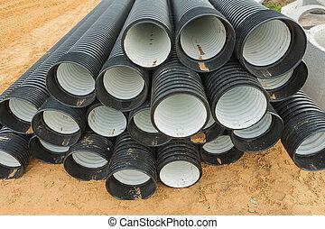 ribbed pipes