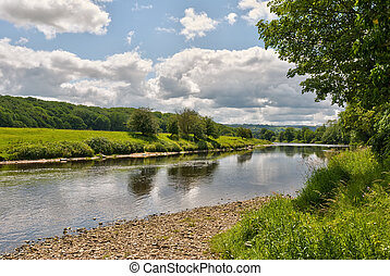 ribble, landschape rivier