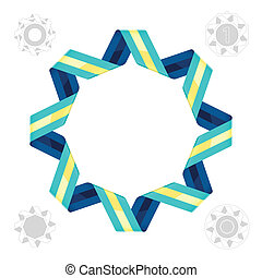ribbon., デザイン, element.