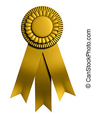 "Ribbon - \""1st place\\\"" graduation ribbon - rendered in..."