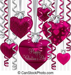 Ribbon Balloon Card