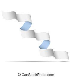 Ribbon-banner for design