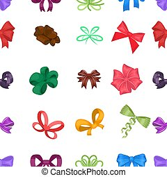 Ribbon, basma, bandage, and other web icon in cartoon style. Textiles, decor, bows, icons in set collection.