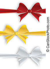 Ribbon bow collection