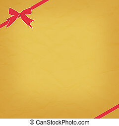 ribbon bow paper craft