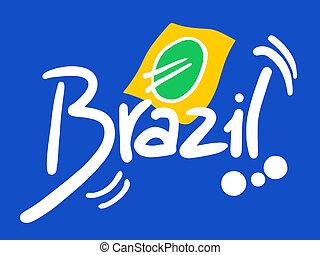 Ribbon brazil