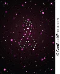 Ribbon constellation
