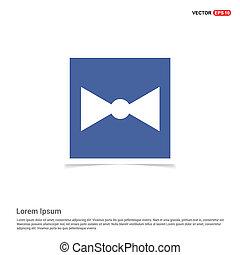 ribbon icon - Blue photo Frame