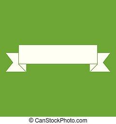 Ribbon icon green