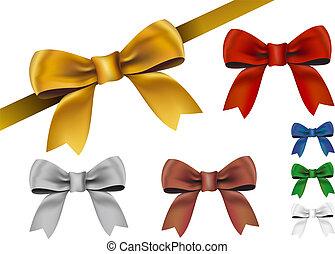 Ribbon isolated on white background vector illustration