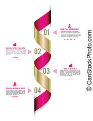 Ribbon modern template