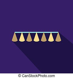 ribbon with cap