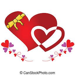Ribbon Wrapped Heart