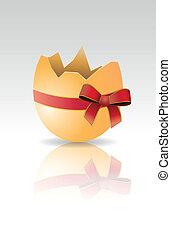 ribbone egg