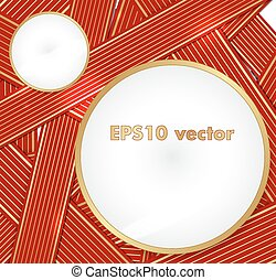 Ribbons vector background