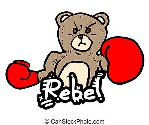 ribelle, orso