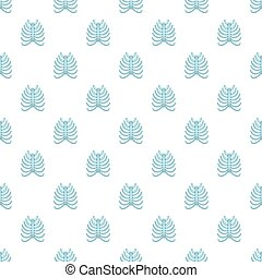 Ribs pattern, cartoon style