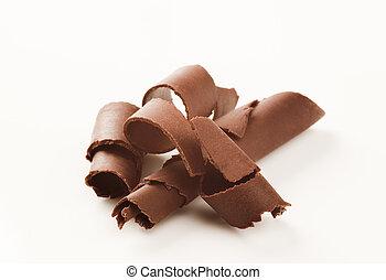 riccioli, cioccolato