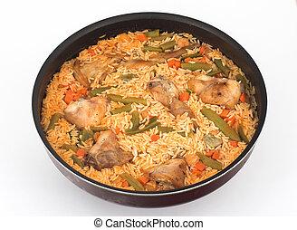 Rice and Rabbit
