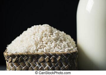 rice and rice milk