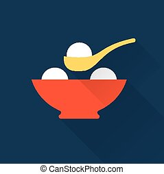 Rice balls icon