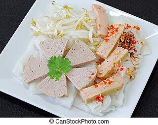 Rice Cake and Shrimp Paste