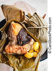 Rice dumpling, zongzi , duanwu festival.
