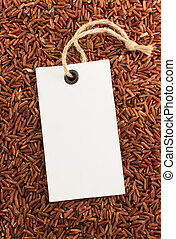 rice grain as background texture