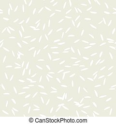 Rice grain pattern on light background vector - Simple ...