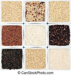 Rice Grain Varieties
