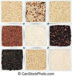 Rice Grain Varieties